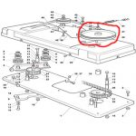 Castelgarden-tc102-Steel-PULLEY-125601550